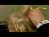 Оригинальная прическа на короткие волосы
