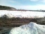 Дорога до жилой деревни Дерябиха в 500 м от города Иваново, Ивановская область